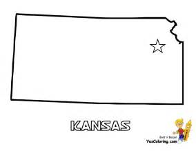 Kansas State Map Outline
