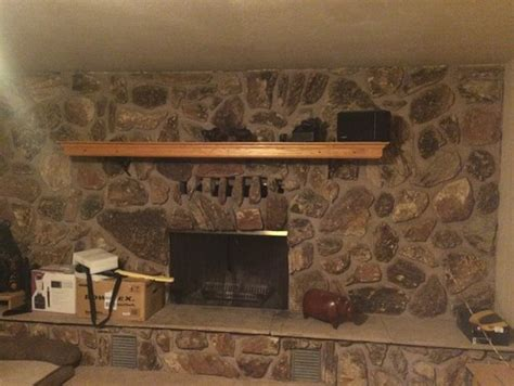 lava rock fireplace help what do do with all the lava rock