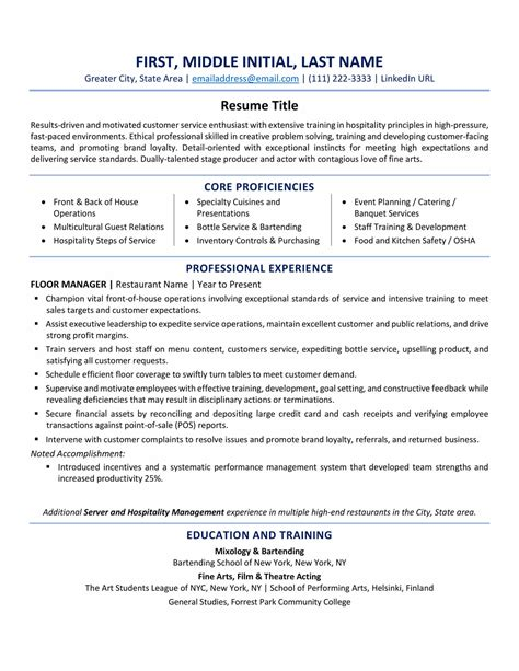 Sle Of A Resume Format by Usa Resume Format Best Tips And Exles Updated