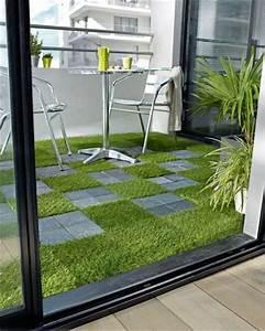 revetements de terrasse dalles a derouler ou clipser With salle de bain design avec fruits décoratifs artificiels