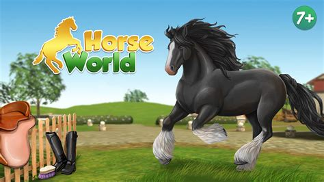 horse 3d riding horseworld google android play app apps premium screenshot equestrian ranch