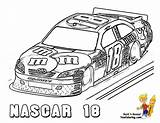 Coloring Nascar Pages Cars Printable Boys Fast Race Sports Super Colouring Sheets Drawing Yescoloring Mega Kyle Busch Earnhardt Speed Dale sketch template