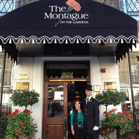 the montague on the gardens arriving to a wonderful welcome picture of the montague