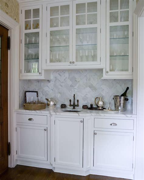 wet bar sink transitional kitchen thornton designs