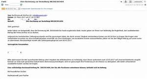 Rechnung Rechtsanwalt Nicht Bezahlen : giropay ag achtung trojaner rechnung im anhang anti ~ Themetempest.com Abrechnung