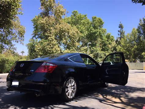 honda accord coupe black      speed manual transmission  honda accord