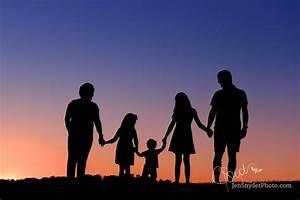 Harford County Family Photographer, Sunset Silhouette ...