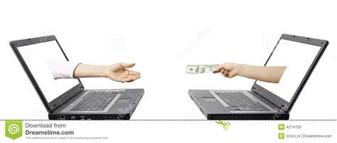 bureau de transfert d argent concept de transfert d 39 argent électronique photos stock