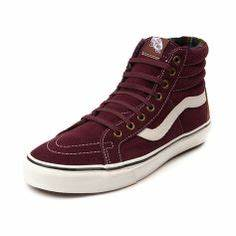 Maroon Vans on Pinterest
