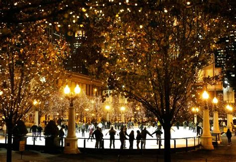 millennium park christmas lights photos free to see events national geographic