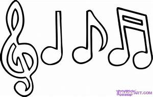 How to Draw Music Notes, Step by Step, Notes, Musical ...