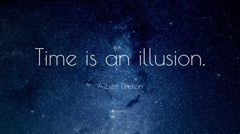 albert einstein time   illusion quote widescreen