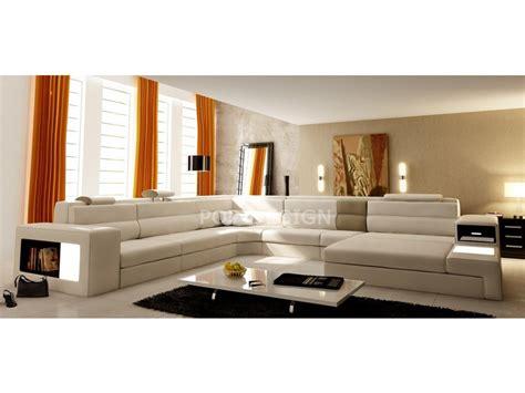 canapé luxe tissu canapé d 39 angle design en cuir osimo rangements