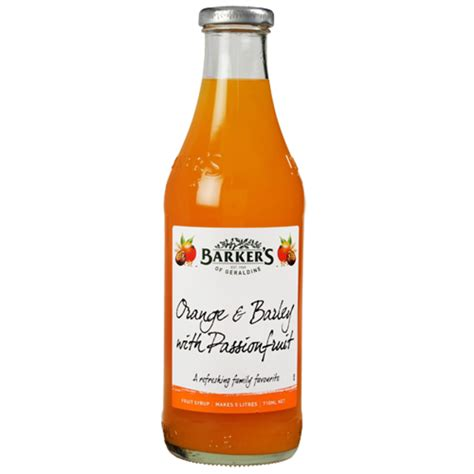 In the british isles it is a bread which dates back to the iron age. Barker's Orange & Barley With Passionfruit Fruit Syrup ...