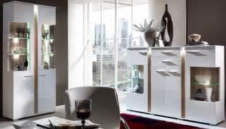 wohnzimmer kommode 2er set vitrinen spot vitrinenschrank anrichte kommode wohnzimmer vitrine weiß hochglanz schöner