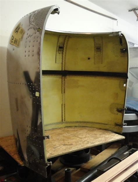 Aircraft Engine Cowling Cover   Recycling the Past