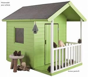 Maison Pour Enfant En Bois : maisonnette en bois pour enfants kangourou chalet pas cher ~ Premium-room.com Idées de Décoration
