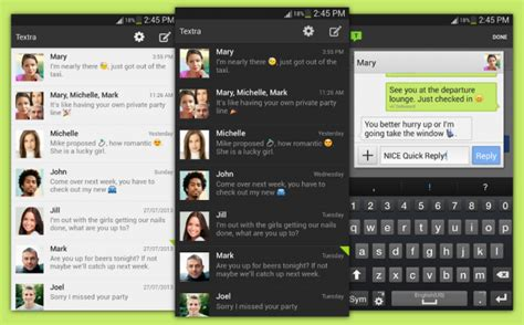 best android texting app best messaging apps for android