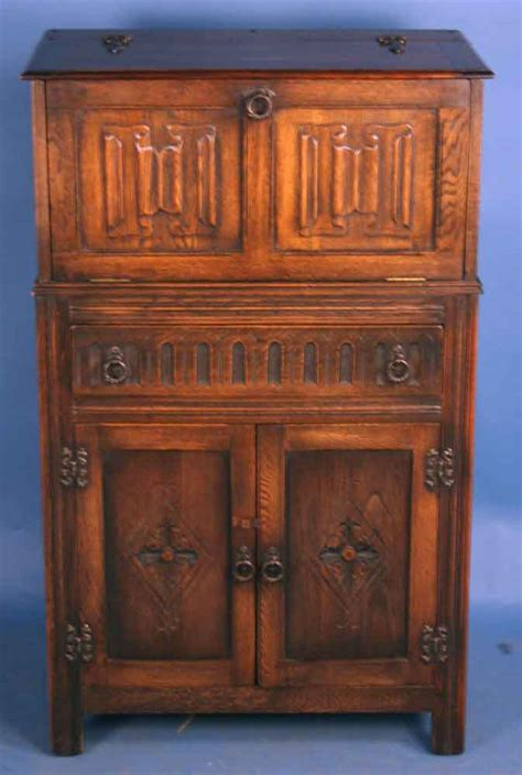 vintage oak liquor cabinet antique oak jacobean liquor cabinet for antiques 6853