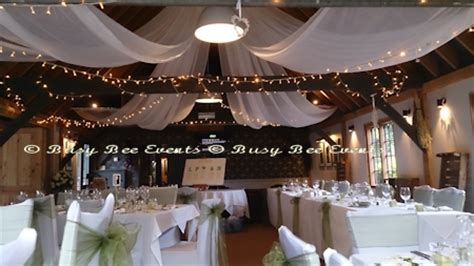 Roof Draping - roof draping wedding draped or used to create modern