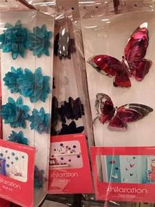 Floral and butterfly wall art at target home decor