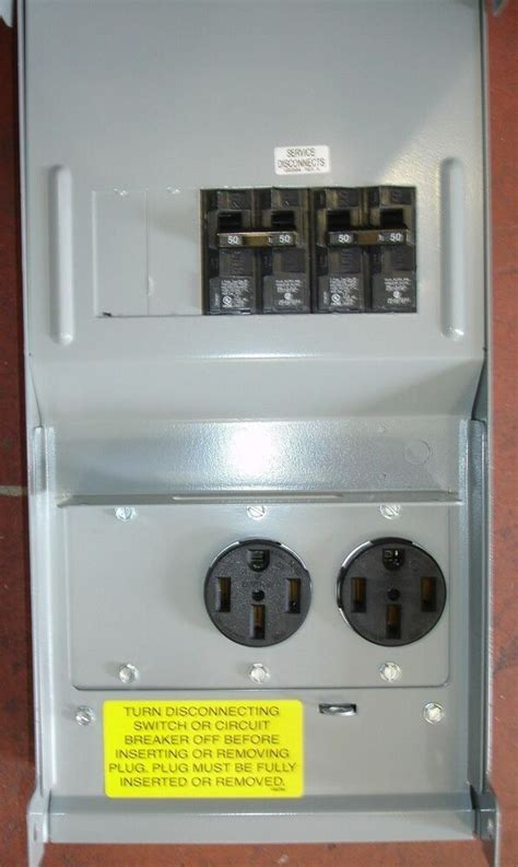 rv power outlet box     amp power outlets