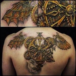 20+ Innovative Steampunk Tattoo Designs - Golfian.com
