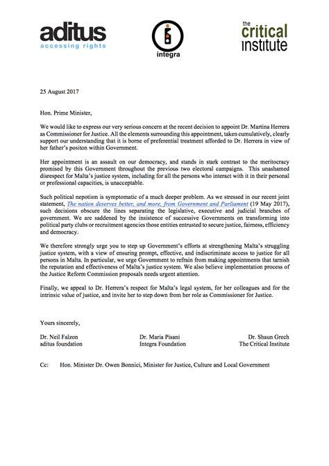joint ngo letter   prime minister