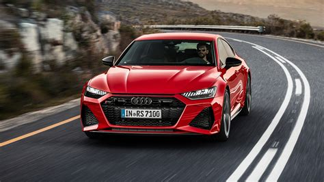 audi rs  drive review  fearsome hellsled