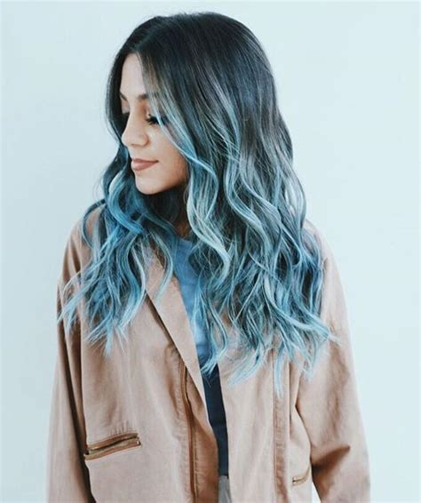 Hair And Blue by 25 Insanely Awesome Ombre Hair Blue Purple