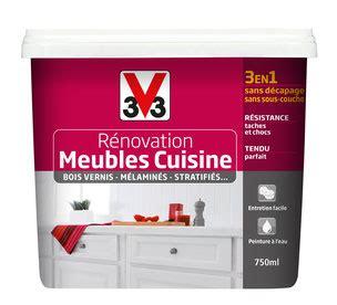 v33 cuisine 3 en 1 sans décapage et sans sous couche