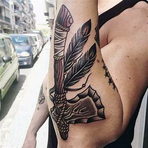 70 Tomahawk Tattoo Designs For Men - American Indian Axe Ideas