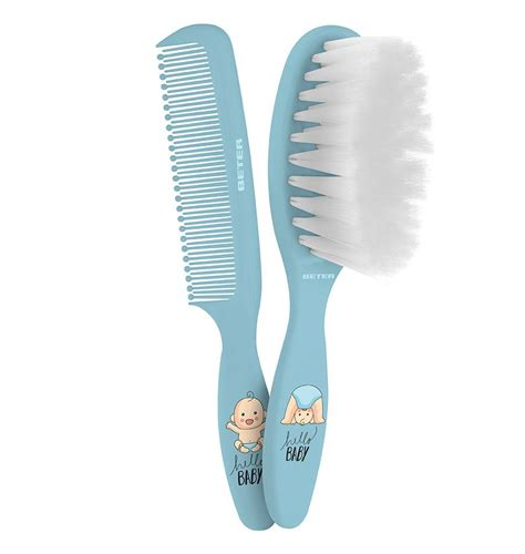 baby safe brush comb baby brush and comb set beter accesorios y cosméticos