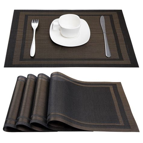 Table Mats - trendy tablemats and placemats yonohomedesign