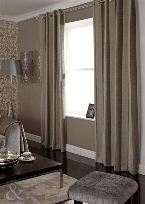 luxury chenille natural mink curtains striped velvet