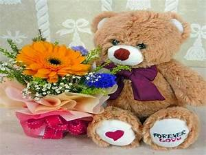 Beautiful Flower Wallpapers For You: Teddy Bear with ...