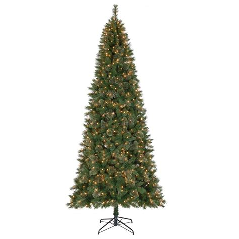 reviews home accent welsley spruce christmas tree home accents 10 ft juniper spruce set artificial tree with 900 clear