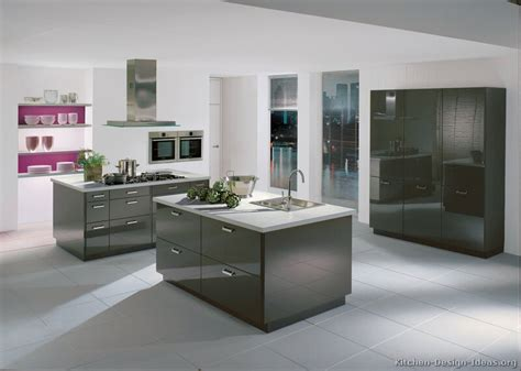 white and gray kitchen hudson tiles gray modern kitchens Modern