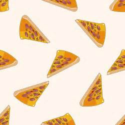pizza pattern seamless vectors 04 vector vector food vector pattern free