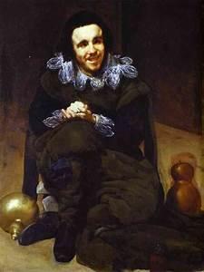 The Buffoon Calabazaz - Diego Velazquez Painting