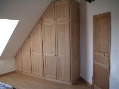 chambre sous pente armoire de chambre sous pente