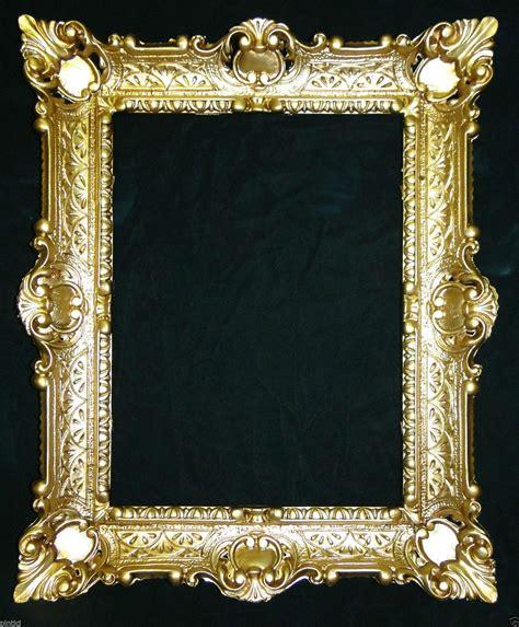 gold bilderrahmen bilderrahmen gold barock 56x46 fotorahmen antik rahmen 30x40 mit glas kaufen bei pintici
