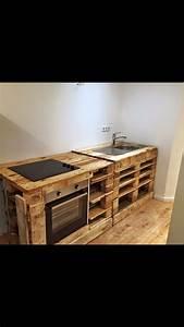 Selfmade Diy Kitchen Paletten Kche Einrichten Kitchen