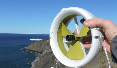mini power generator mini wind turbine charges devices via usb springwise