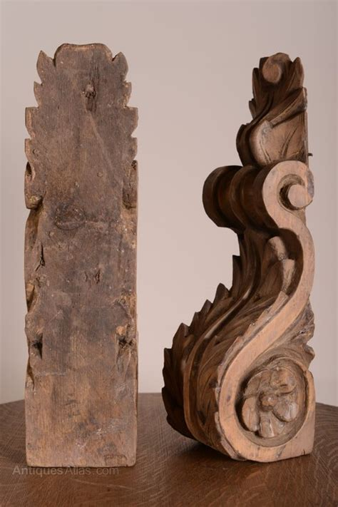 Antique Wood Corbels For Sale by Antiques Atlas Pair Of Antique Corbels