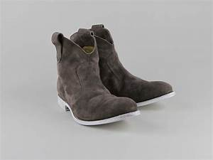 Chaussures Atelier Voisin / BAIA / Boots Taupe Velours