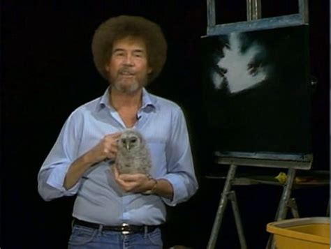 Pictures Of Bob Ross With Animals