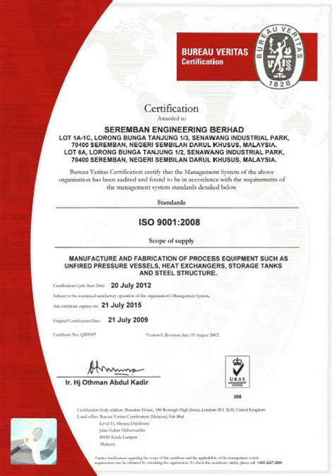 bureau veritas mumbai office bureau veritas certification seremban engineering berhad