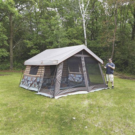 timber ridge cabins timber ridge 8 log cabin tent www kotulas free