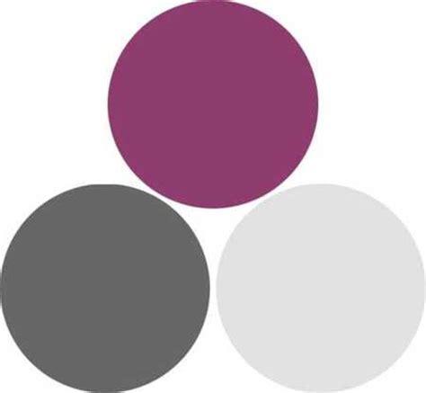 purple gray color combination interior design decor 1